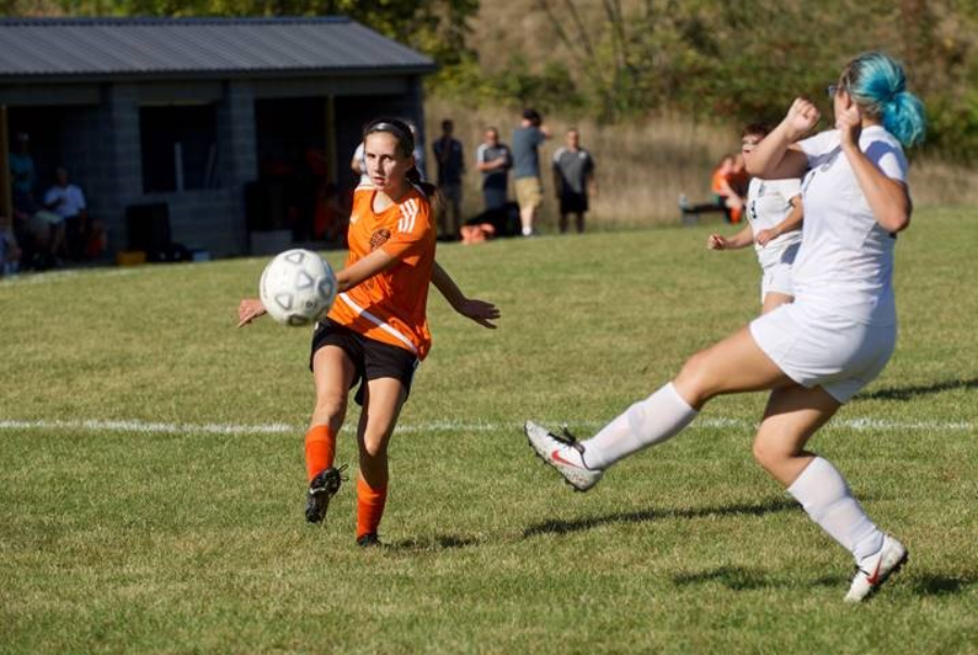 Sophomore Sophia Nelson had the game-winning goal in double-overtime against Bellefonte.