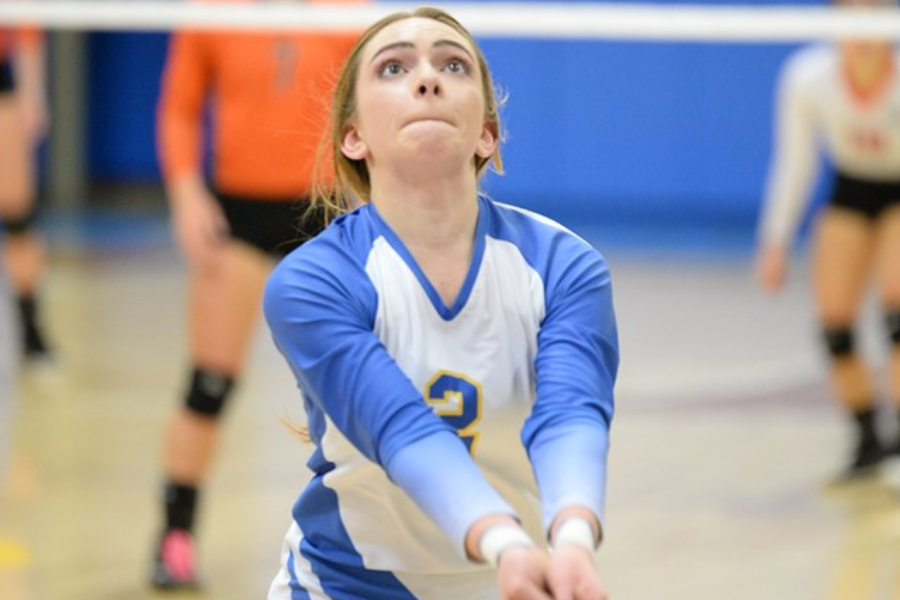 Sydney Lechner and the volleyball team shift their focus from the Backyard Brawl to the District playoffs.