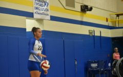 Sakeria Haralson and the Lady Blue Devil volleyball team are headed to the playoffs.