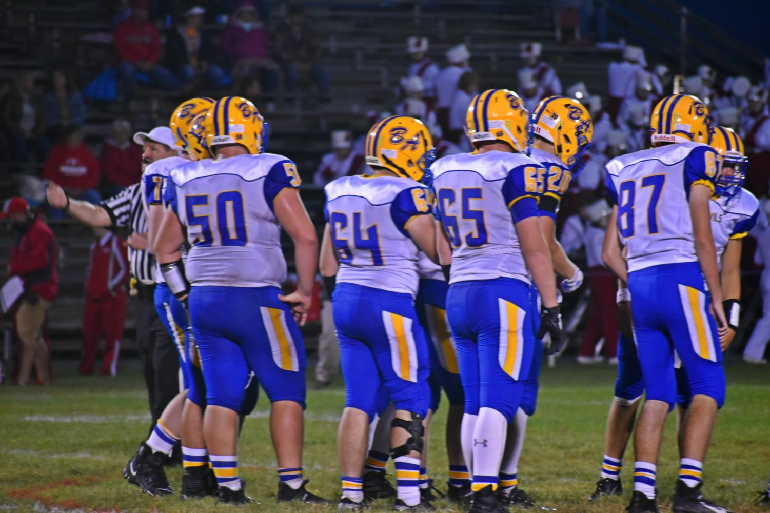 The Bellwood-Antis offensive line has been the team's unsung hero during its 8-0 start.