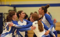 Volleyball gets key win to become playoff eligible