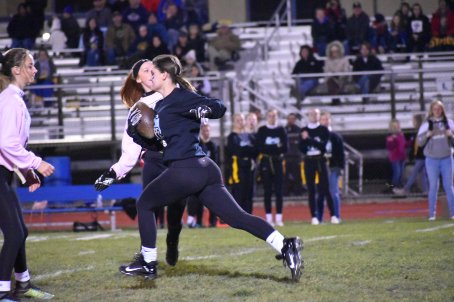 Powder Puff football; November 4, 2019. (Zach Miller)