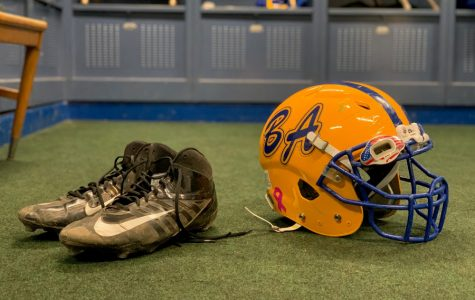 Players choose different cleats for different reasons on the football field.