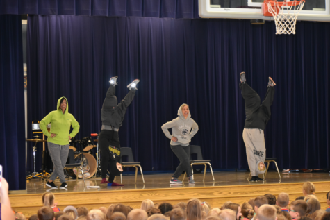 Myers Teacher Talent Show; November 1, 2019.