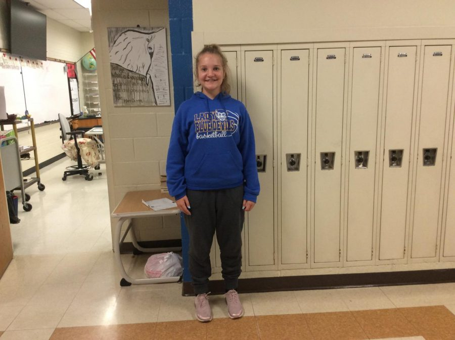 Lindsay hopes to play college basketball and make it to the WNBA some day.