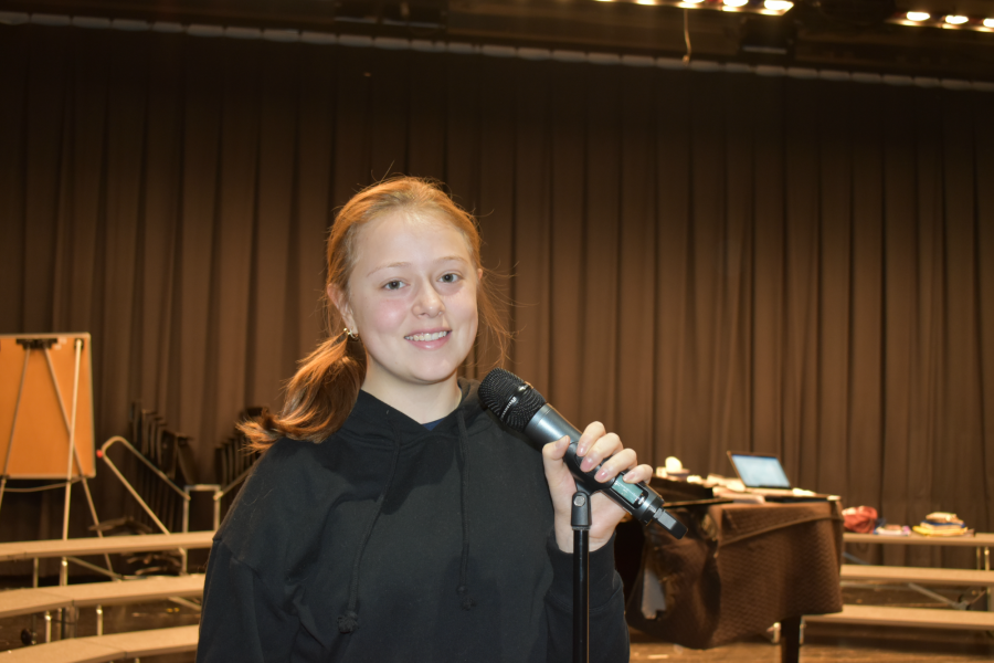 Jayce Miller is one of four B-A singers to reach District Chorus.