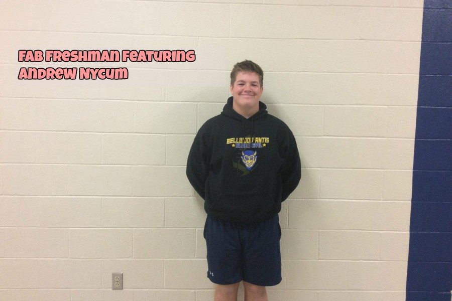 Fab freshman: Andrew Nycum