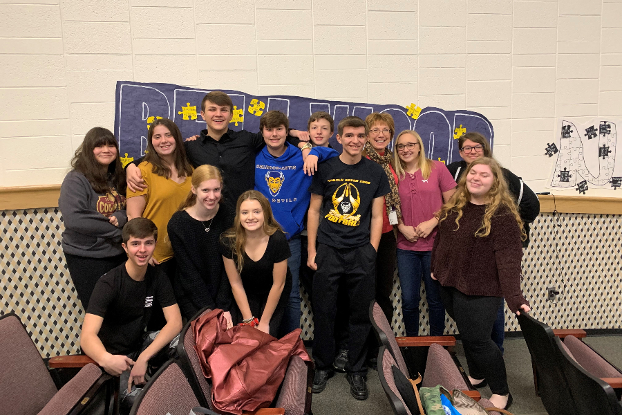 B-A is sending 12 singers to county chorus this year.