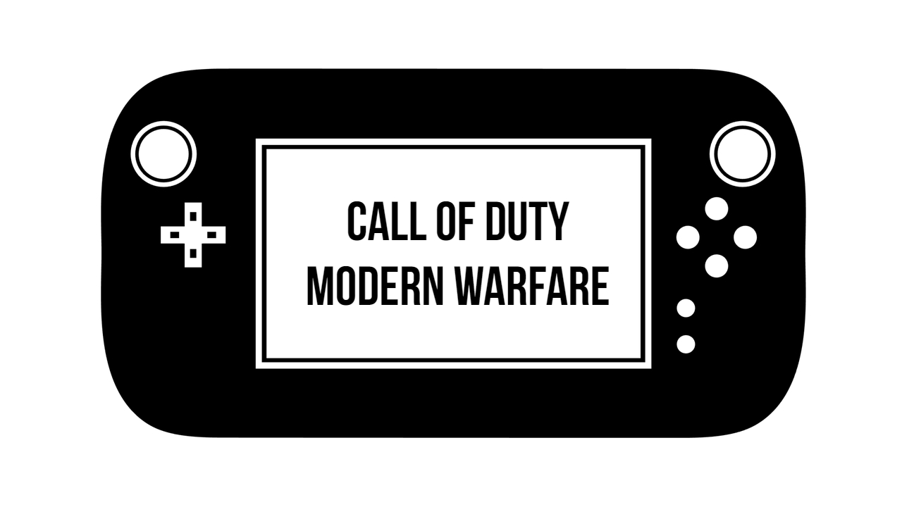 Call of Duty Modern warfare; November 1, 2019.