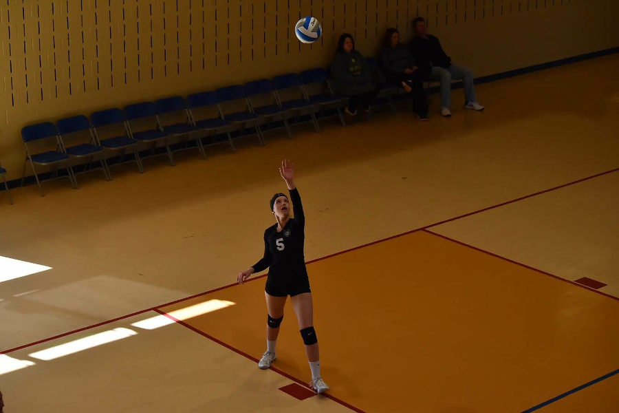 B-A senior Bella Kies has played travel volleyball with the Horseshoe Volley Ball Club throughout high school, and it improved her game enough to allow her to compete on the next level.