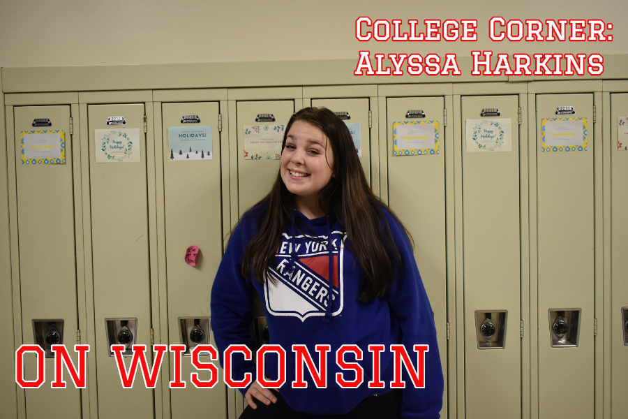 Alyssa Harkins is heading the the Midwest for her college journey.