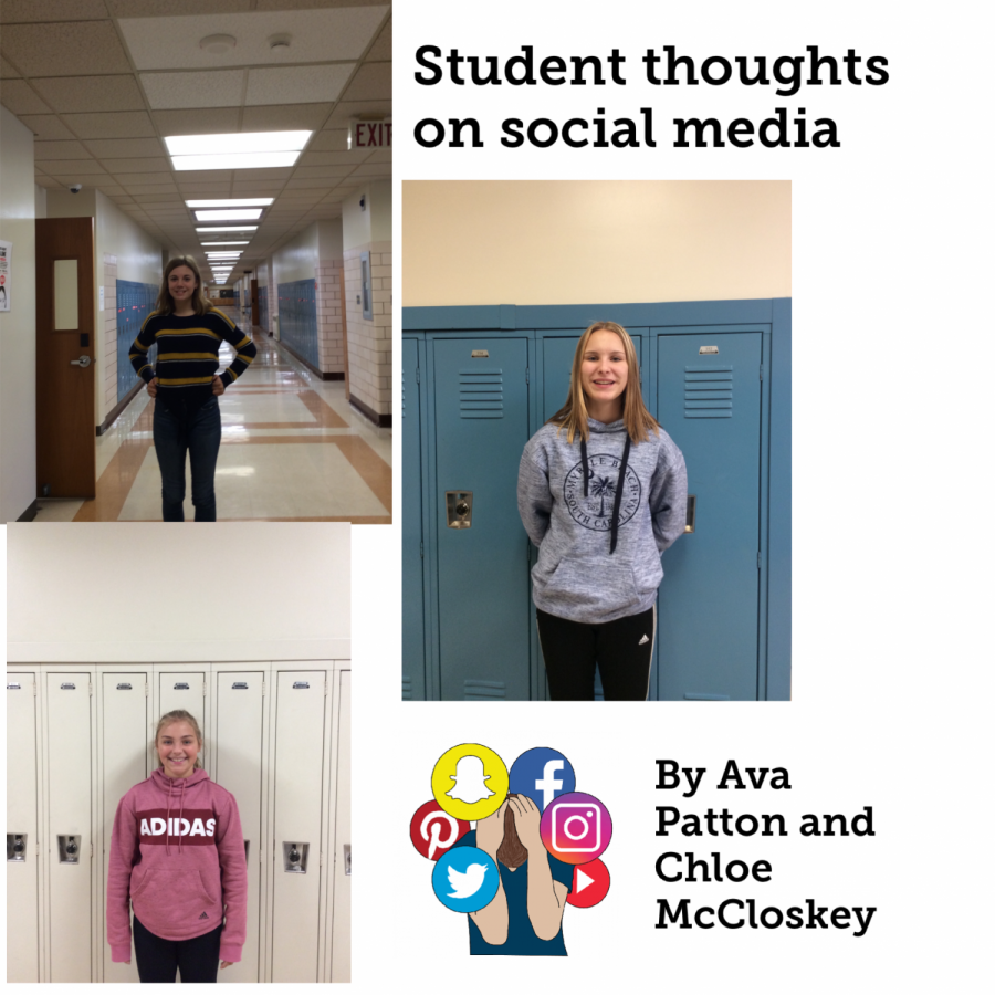 BAMS students share their thoughts about using social media.