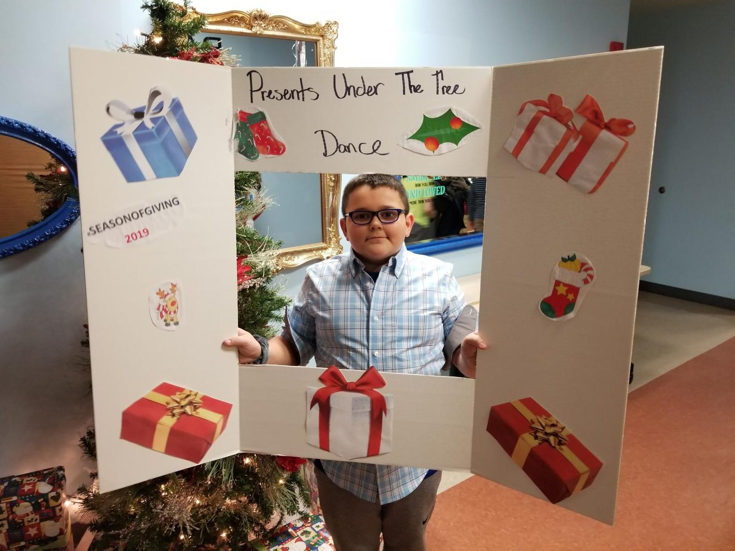 Fifth grader Bryson Hescox is one of the students who attended the dance.