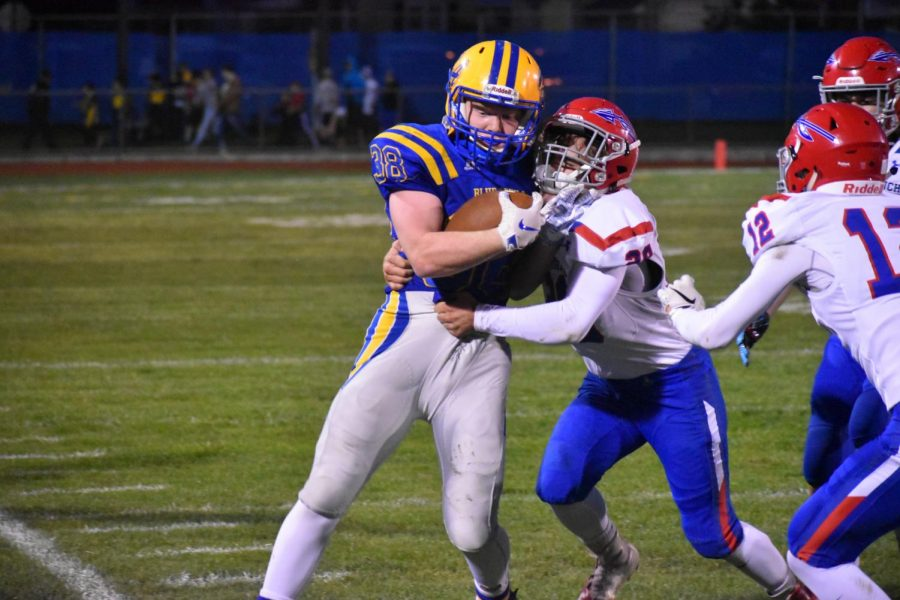 Nick Plank earned second-team All-State as a linebacker from the PFN.