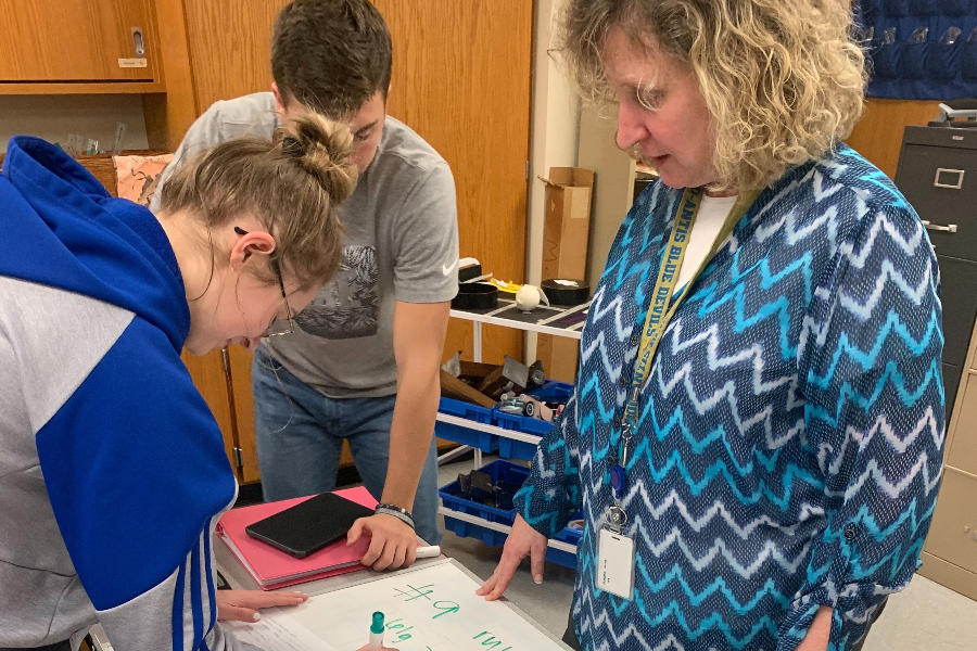 High school physics teacher Mrs. Alice Flarend finds passion in helping students ask important questions and develop as thinkers. However, more and more teachers are frustrated by many external factors governing education.