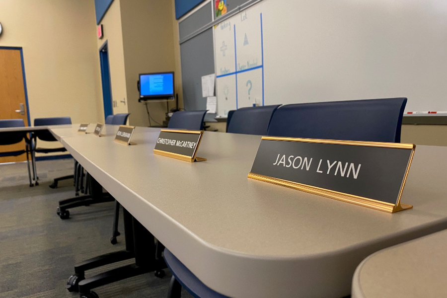 Board member Jason Lynn is on jail on multiple felony charges.
