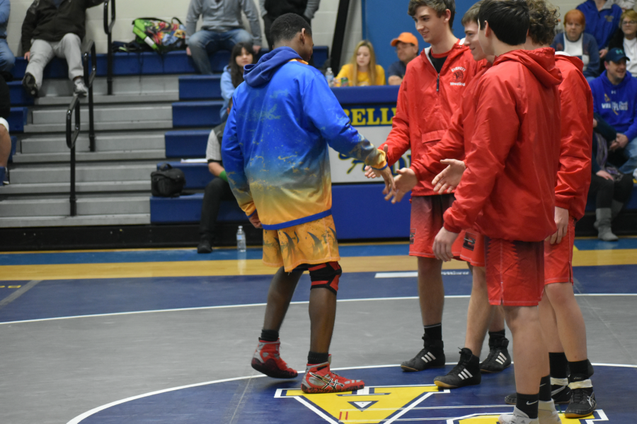 Aiden Taylor is 17-2 this season with 10 pins.