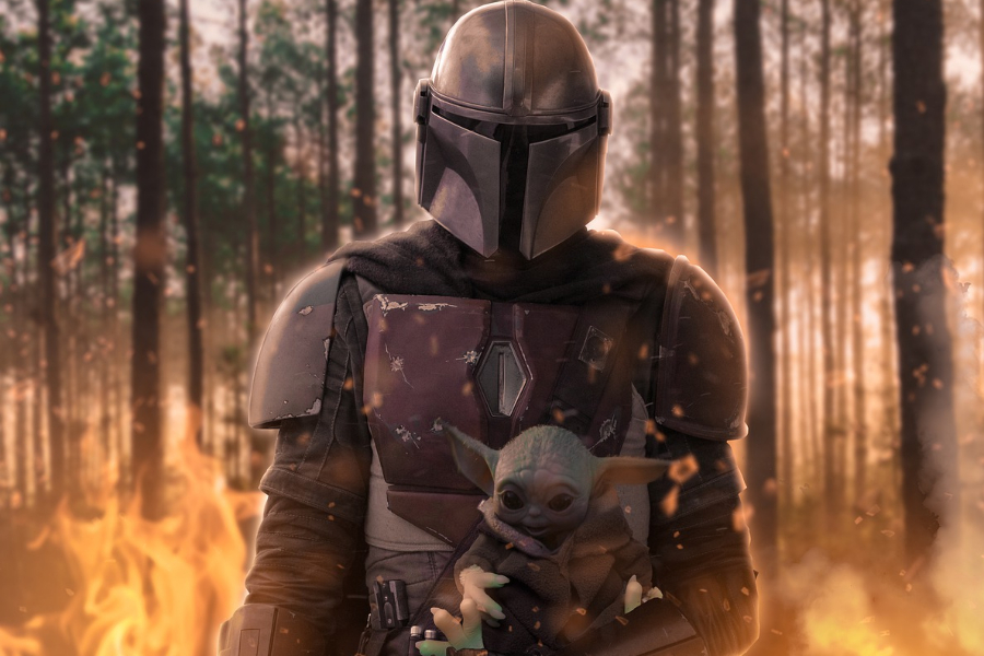 The+Mandalorian+has+expanded+the+Star+Wars+universe.