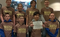 BAMS Mathcounts Team Earns Third Place