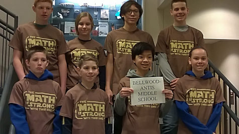 The BAMS Mathcounts team placed third at a recent competition.