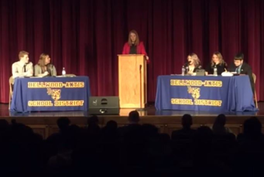 The annual CHS debates took place on February 21.