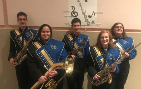 Bellwood-Antis students attend junior High County band Festival
