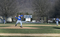 Jack Luensmann returns as a starter on the B-A baseball tam.