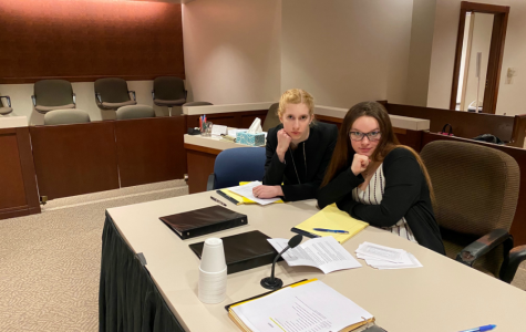 Mock Trial District meet; February 27, 2020. (Courtesy photo)