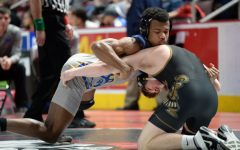 Both Alex Taylor and Evan Pellegrine went 1-1 on day one at the PIAA State Championships