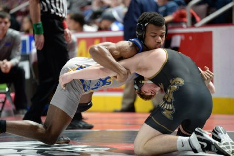 Wrestling team falls to Tyrone