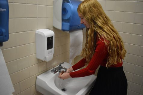 Hand washing is one of many simple steps students can take to protect themselves against coronavirus.