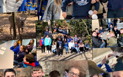 7th graders enjoying their field trip to Penn State.