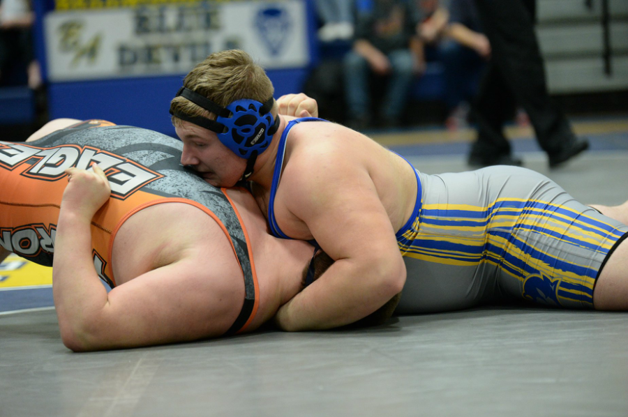 Evan Pellegrine is one of two B-A wrestlers looking for success in Hershey.
