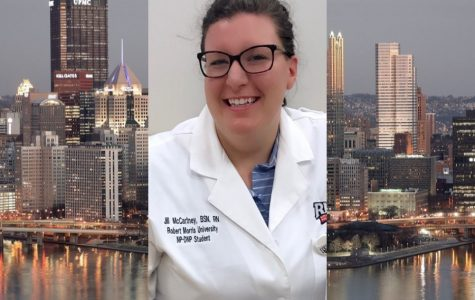 B-A graduate Jill McCartney (2007) recently earned her doctorate in nursing at Robert Morris.