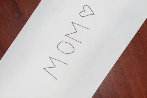 """A letter home to mom, I love you"""