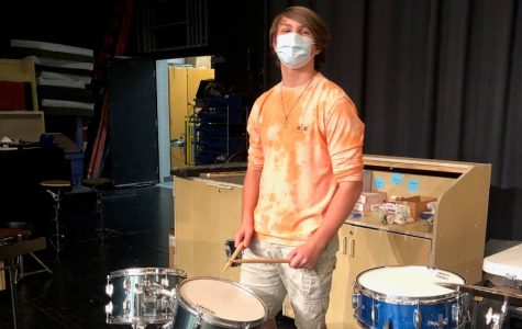 Damon Mills excels in the performing arts whether on one of the seven instruments he plays or with his vocals.