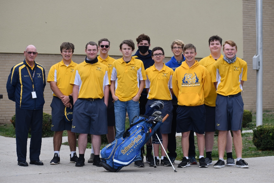 The B-A golf team separated itself from the ICC pack during a championship season.