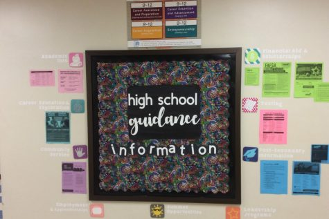 The guidance department always has opportunities to prepare students for their future.