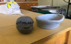 Hunter Gregg has been developing his artistic abilities for years, but only recently has he begun delving into pottery.