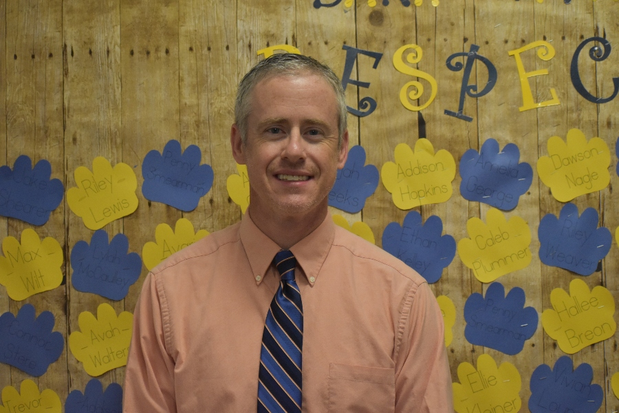 Matt Stinson has had the unenviable task of beginning his principalship at Myers Elementary during the middle of a global pandemic.