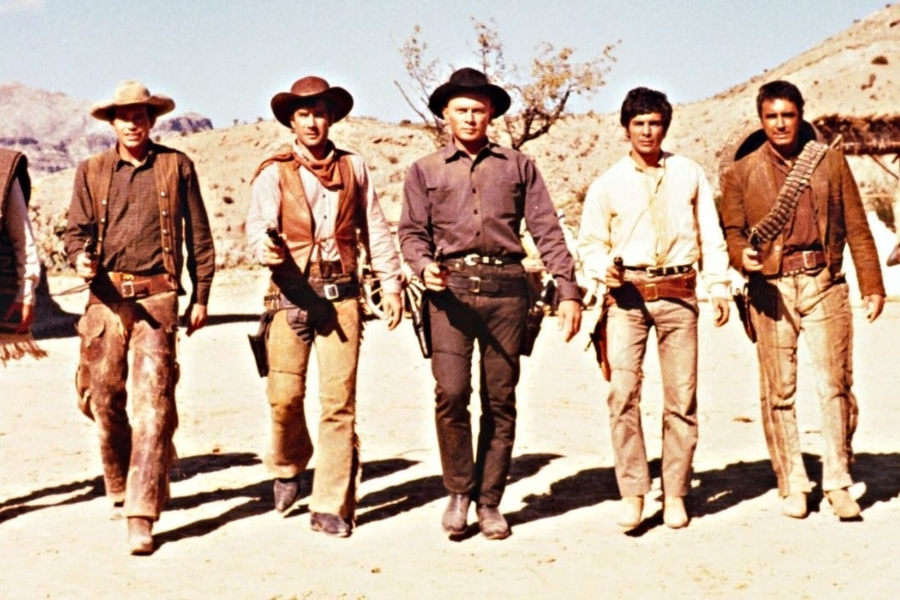 The Magnificent 7 is a classic gunslinger movie.