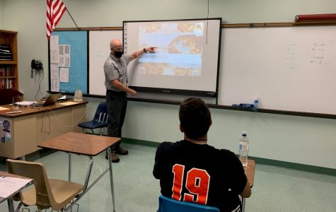 Mr. Roberts is in his first year teaching at B-A.