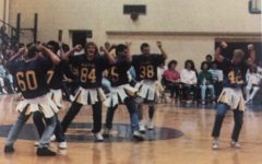 Pep rallies were a big part of the school experience at B-A in the 1980s