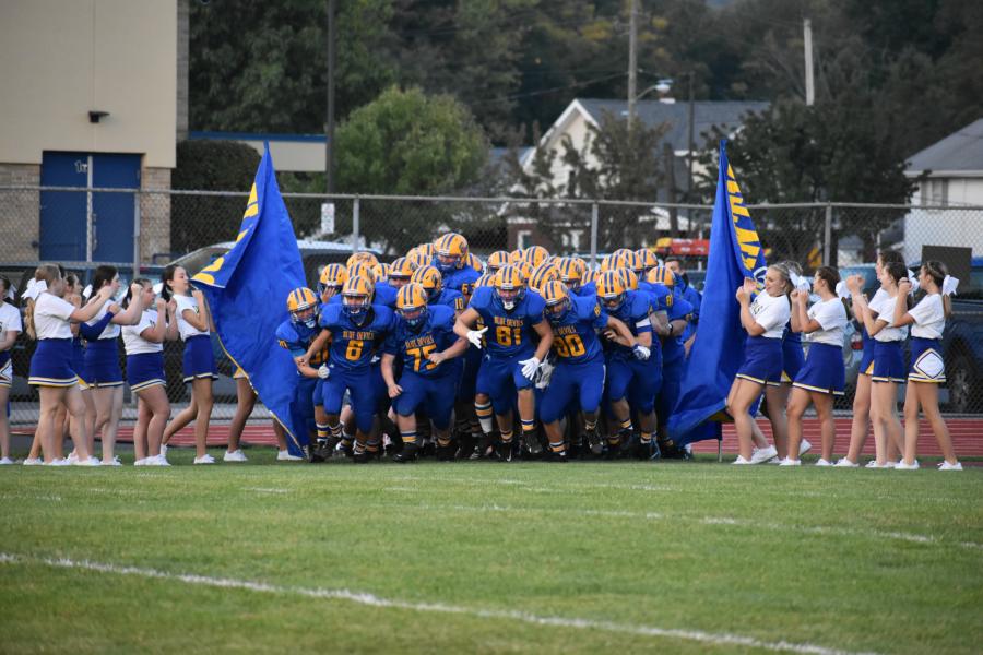 Bellwood keeps on rolling right through The Vikings 47-0. 9/25/2020 (Zach Miller)