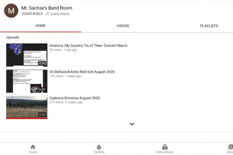 Mr. Sachse and the band have launched their own YouTube Channel.