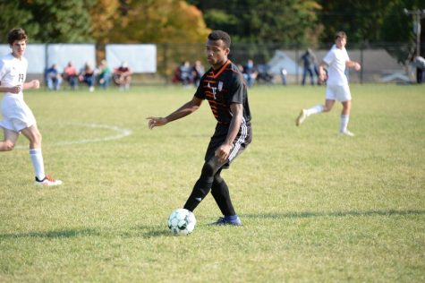 Despite a goal by Alex Taylor, the Tyrone/B-A soccer team fell to Clearfield yesterday, dropping to 5-7.