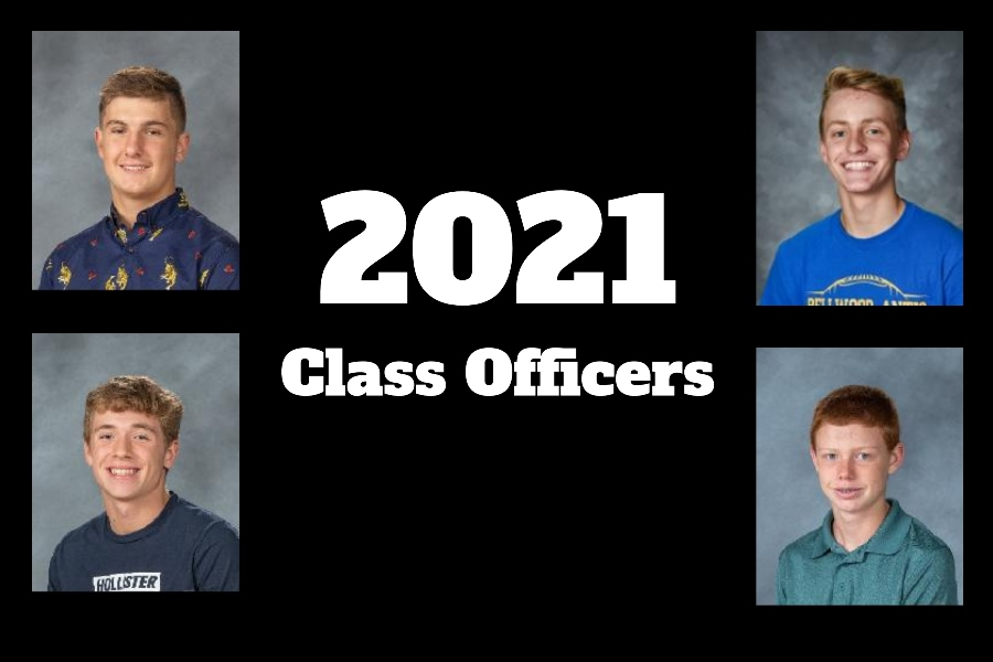 Grade levels elected class officers last week. Presidents included Joe Dorminy (senior class, top left), Cooper Keen (junior class, top right), Gavin Ridgway (sophomore class, bottom left) and Chance Schreier (freshman class, bottom right).