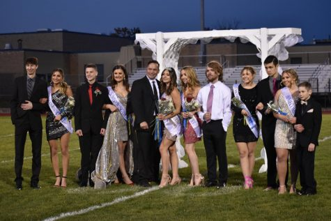 Malia Danish was crowned 2020 Homecoming Queen on Friday at the Bellwood-Antis School District