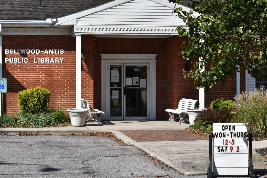 The Bellwood-Antis Public Library has been a service to the community from its current spot on Main Street for 40 years.