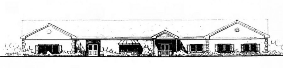 Plans for a library addition came about after Sheetz moved from Main Street to Route 220 in 1997.